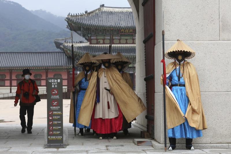 ▲南韓出現第 3 波新冠疫情反彈。資料照。(圖/美聯社/達志影像)