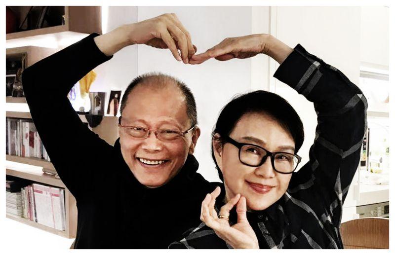 ▲張毅和楊惠姍(右)在影片中相當恩愛。(圖/琉璃工房提供)