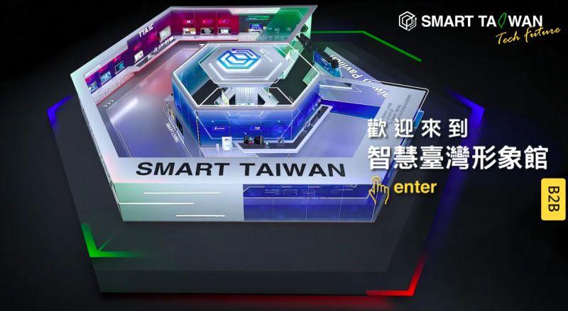 ▲WCIT 2020受疫情影響全程採取線上方式進行,台灣在工業局統籌規劃下,並透過中華軟協的協助創立「智慧台灣形象館」,以虛擬展館形式參與。(圖/中華民國資訊軟體協會提供)