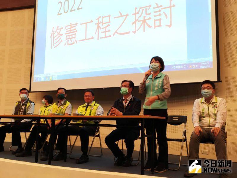 民進黨積極推動修憲 地方說明會首站到彰化
