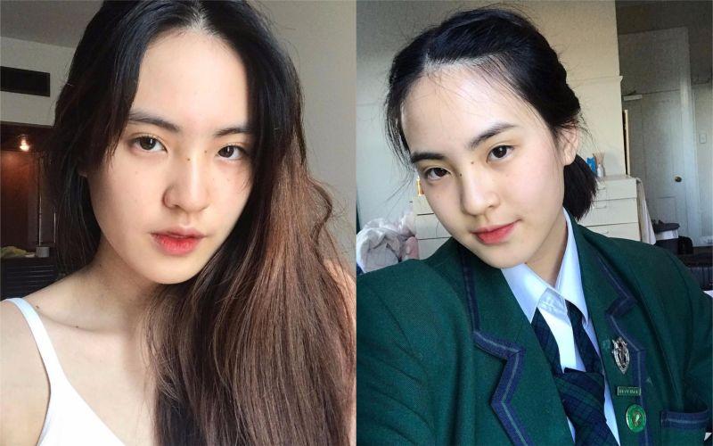 ▲Apichaya Thongkham 相貌乾淨清秀,不需要上妝就魅力十足。(圖/翻攝自IG)