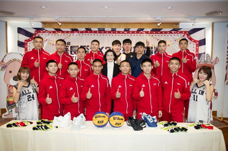 ▲第一屆縣長盃3x3籃球推廣賽記者會。(圖/官方提供)