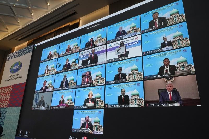 APEC領袖宣言 承諾團結抗疫提升<b>經濟整合</b>