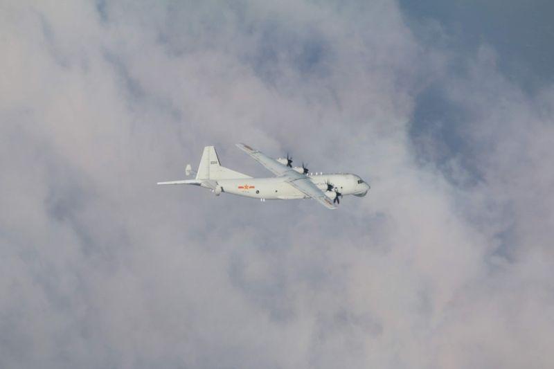 今日3架次共機<b>擾台</b>!本月第15度侵我西南空域