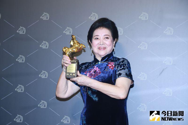 ▲陳淑芳憑《親愛的房客》得最佳女配角。(圖 / NOWnews影像中心)