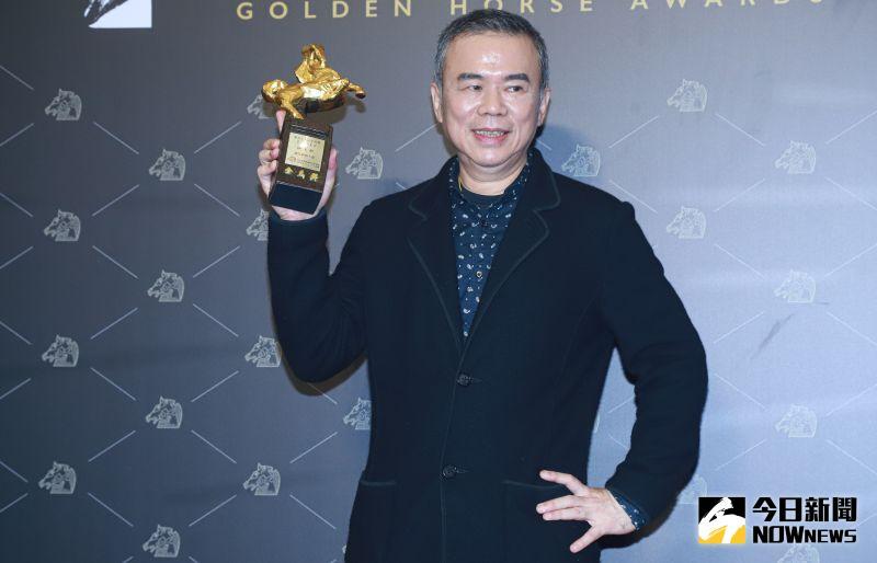 ▲陳玉勳坦言沒想過會拿下「最佳原著劇本」。(圖/NOWnews影像中心)