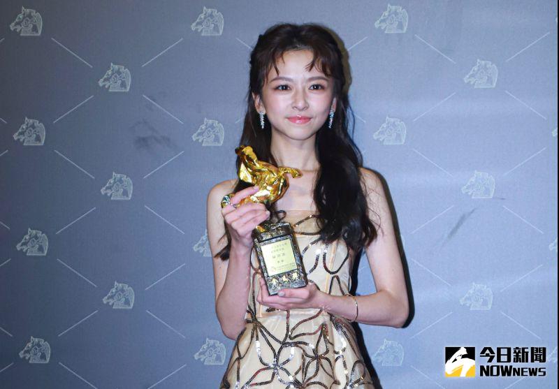 陳姸霏奪下最佳新演員獎。(圖/NOWnews影像中心)
