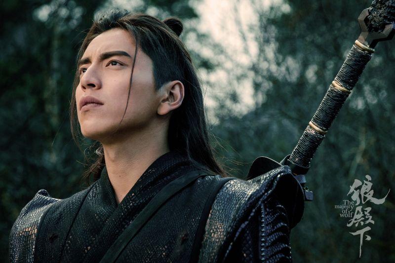 ▲王大陸主演新戲《狼殿下》近日上檔。(圖 / 愛奇藝提供)