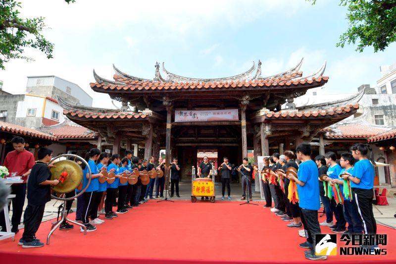 ▲2020南北管秋之饗宴在鹿港龍山寺登場。(圖/記者陳雅芳攝,2020.11.22)