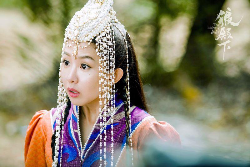 ▲郭書瑤飾寶娜公主。(圖