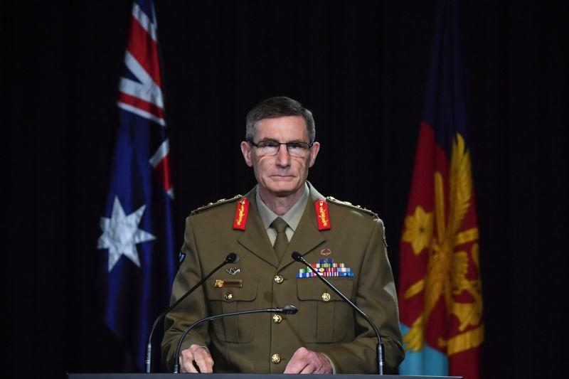 ▲澳洲國防軍(ADF)司令康貝爾。(圖/美聯社/達志影像)