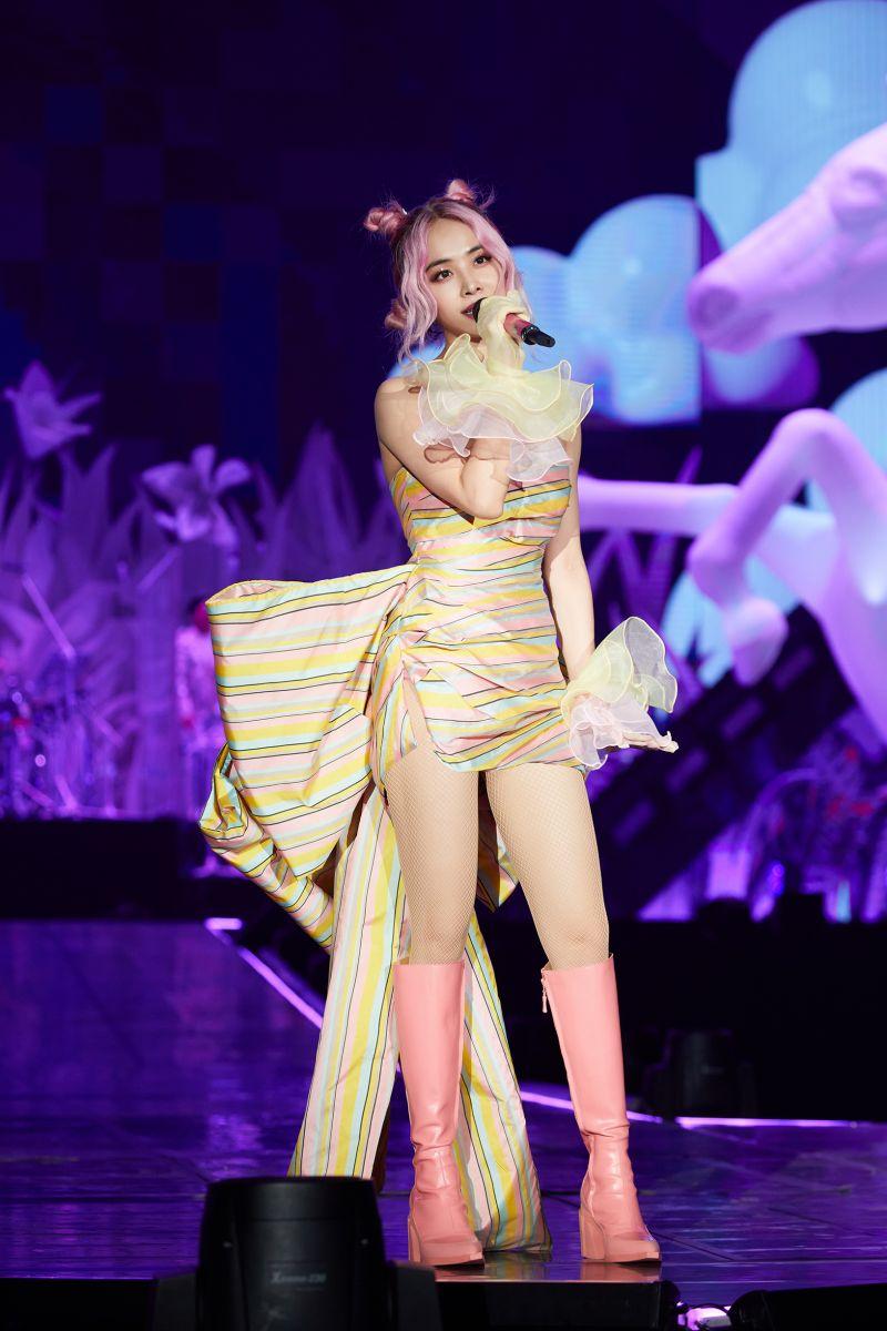 ▲蔡依林為高雄的演唱會準備了新的服裝。(圖/凌時差提供)