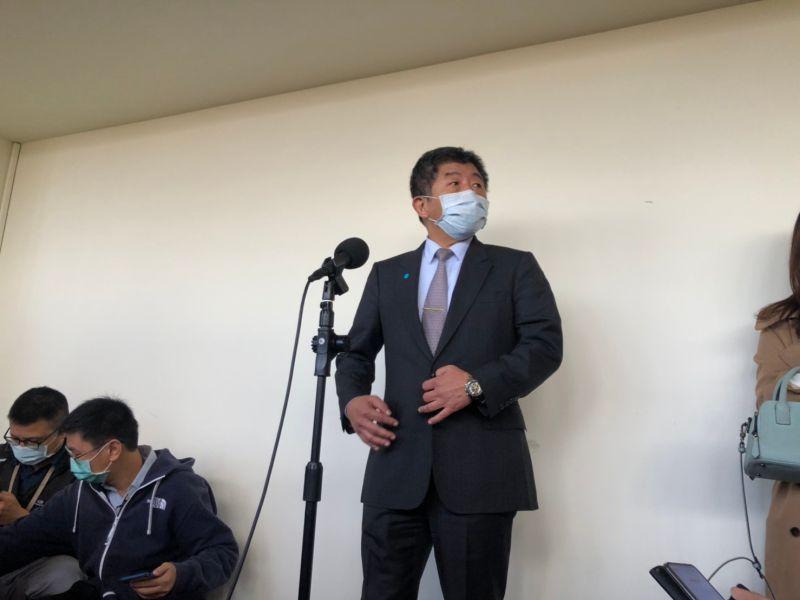 ▲衛福部長陳時中,今(23)天針對新冠肺炎相關防疫作為到立法院備詢。(圖/記者劉雅文拍攝)