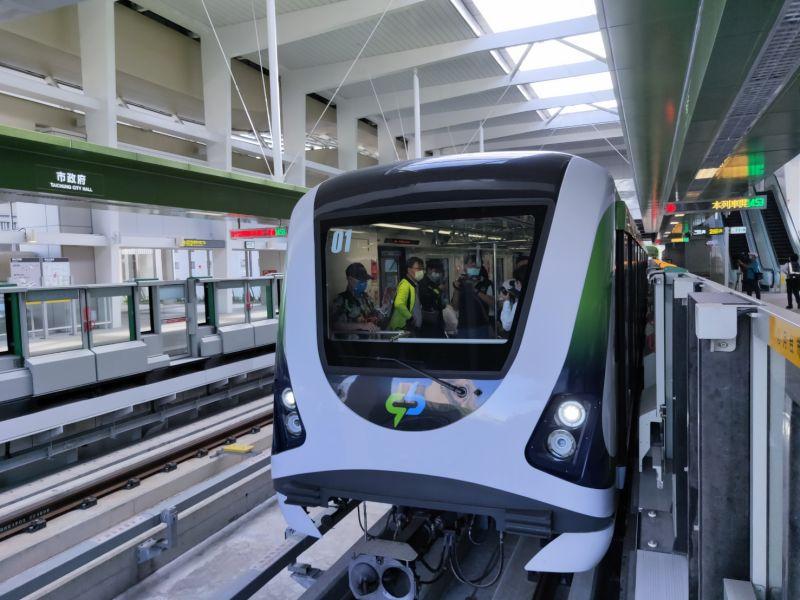 中捷綠線列車全面安檢 評估最快11月底後試營運