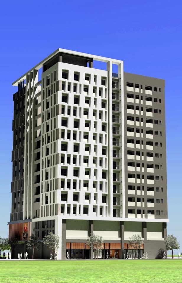 ▲中興戲院更新後成為地下2層、地上14層之住商大樓,是我國離島地區都更成功的第一案。(圖/澎湖縣政府提供)