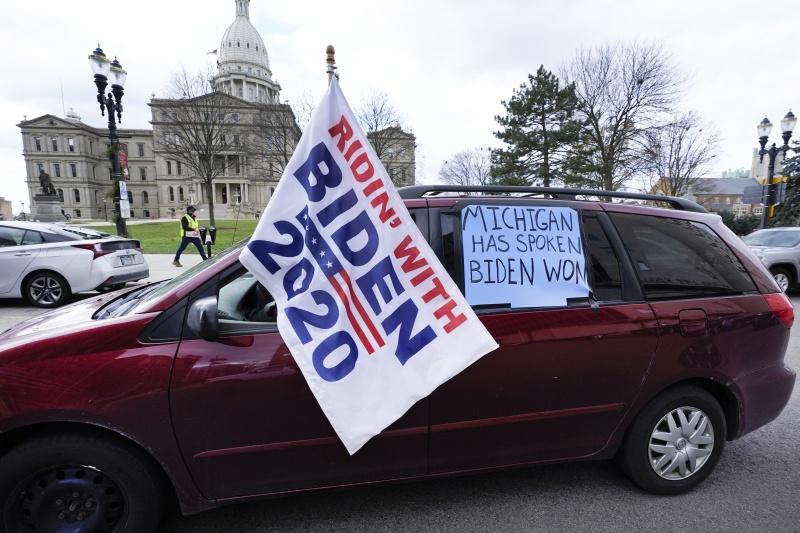 川普離翻盤更遠了 密西根州正式宣布由拜登拿下