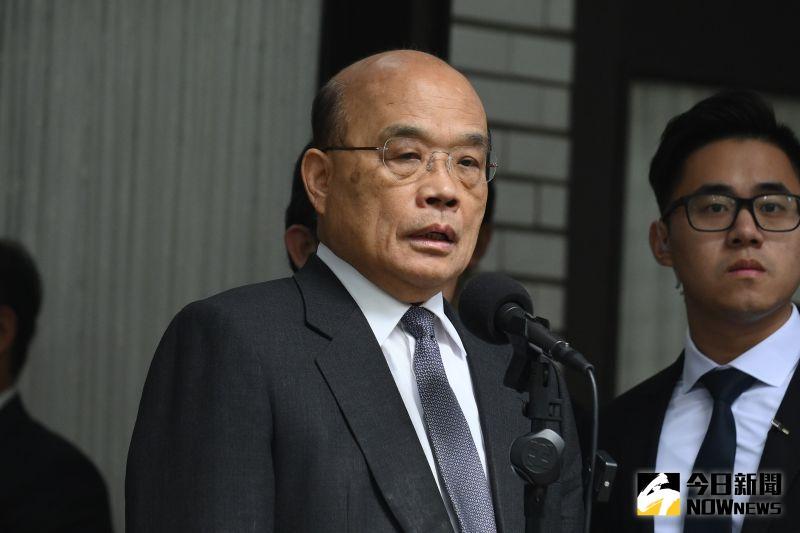 行政院長蘇貞昌。(圖/記者林柏年攝,2020.11.24)