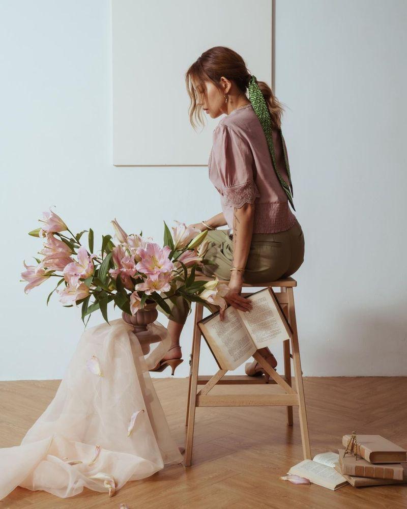 ▲陳艾琳花藝店經營得有聲有色。(圖陳艾琳IG)