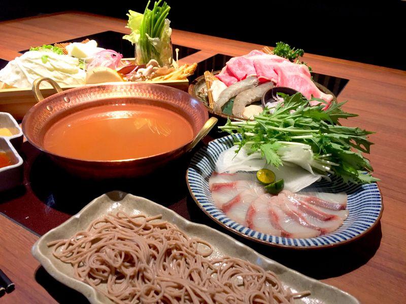 日本新年必吃!道地鰤魚和牛涮涮鍋搭配蕎麥麵暖心開賣