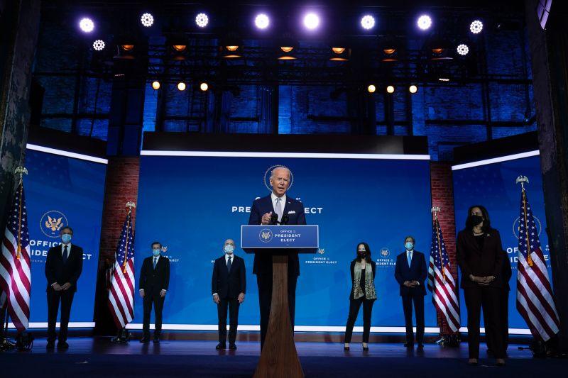 白宮批准接受總統簡報!拜登公佈首批閣員人選:美國歸來
