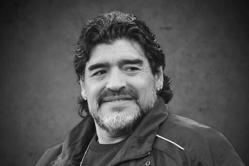 ▲阿根廷足球傳奇人物馬拉度納(Diego Maradona)25日因心臟病發作過世,享壽60歲。(圖/達志影像/美聯社)