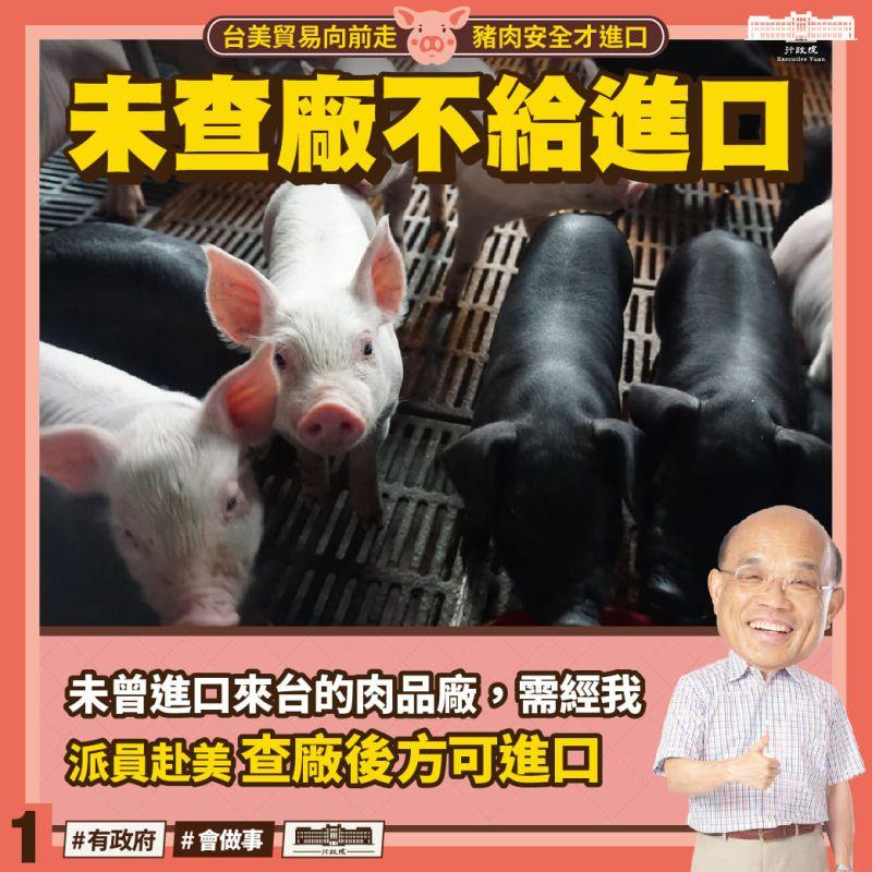 進口萊豬新廠商須先經查廠 衛福部:目前無新廠申請