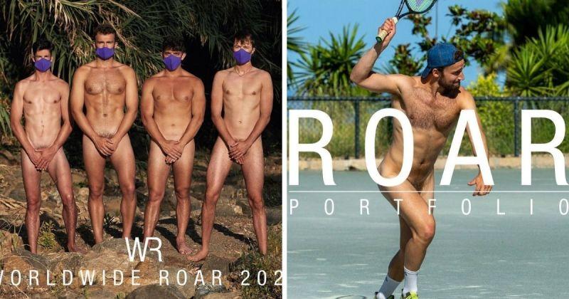 英國運動猛男全裸上陣!鮮肉月曆背後目的超感人
