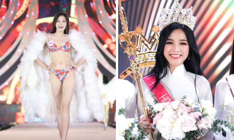 年僅20歲擊敗眾佳麗!越南氣質學生妹摘選美后冠