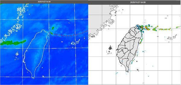 雨彈噴7天!線狀雲將觸北台灣