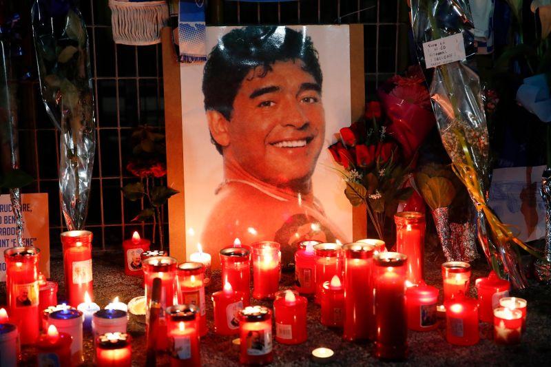 足球/「上帝之手」Maradona辭世 人生的最後一句話曝光