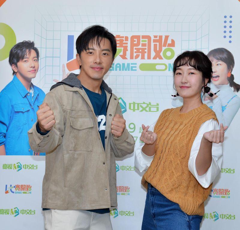 ▲坤達(左)、巴鈺組成「黏巴達」CP。(圖/衛視提供)