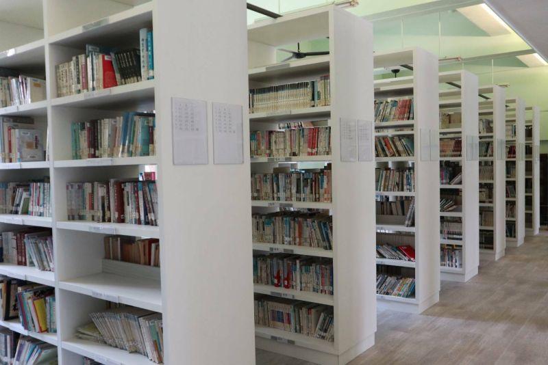 悅讀新視界 清水高中「社區共讀站」媲美誠品風