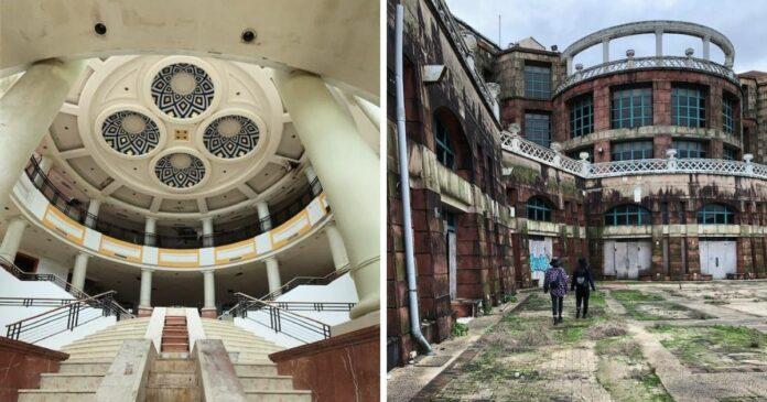 老外闖萬里最恐怖廢墟 在二樓看見這畫面寒毛直豎