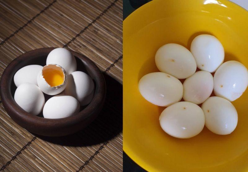 水煮蛋剝開驚見「詭異黃點」!女嚇壞不敢吃 內行曝真相