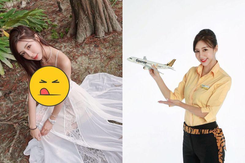 千年一遇美女空姐穿薄紗洋裝 一蹲下「邪惡視角」秒見客