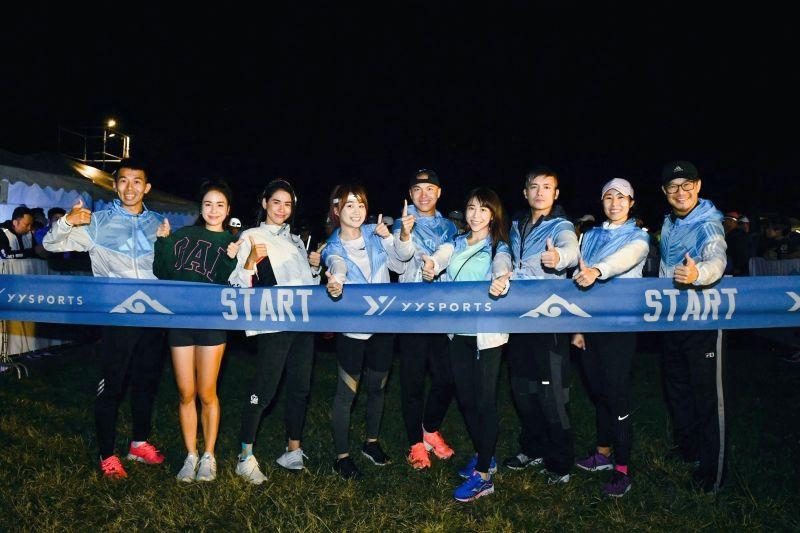 HOOD to COAST台灣賽 范逸臣與運動甜心接力跑過170公里