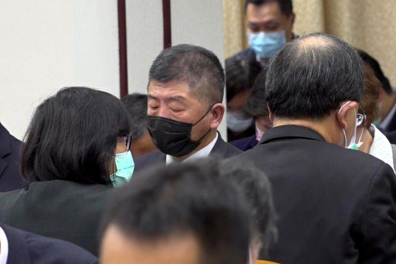 ▲衛福部長陳時中,今(30)天赴立法院備詢。(圖/記者林柏年拍攝)