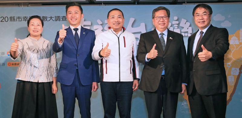 全台縣市長施政滿意度調查 台南市74.6%凌駕北、中、高