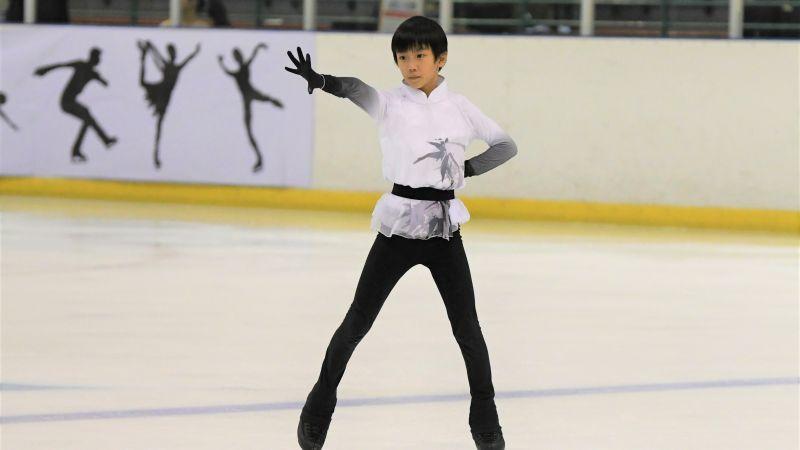 從北京送回台灣就為學滑冰 小童星天賦高教練免費指導