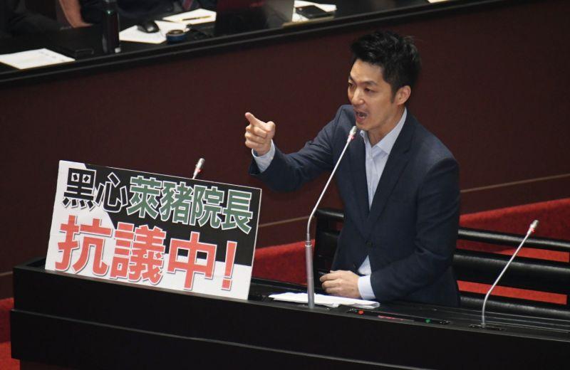 影/蘇貞昌再度反質詢 蔣萬安怒轟「傲慢的政府」