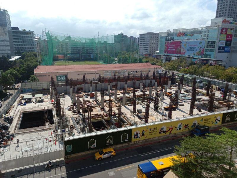 ▲NOKE忠泰樂生活建構工程已積極展開,該商場預計於2022年春天開幕。(圖/忠泰提供)