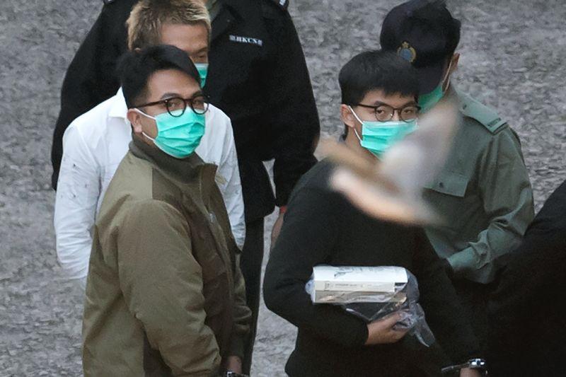 NOW早報/違反香港國安法遭判刑 黃之鋒囚13.5月