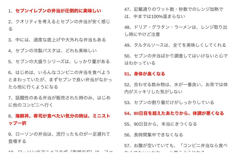 ▲日本有位網友挑戰連續吃超商便當100天,並在推特分享逐日心得。(圖/翻攝自@rekishichosadan的推特)