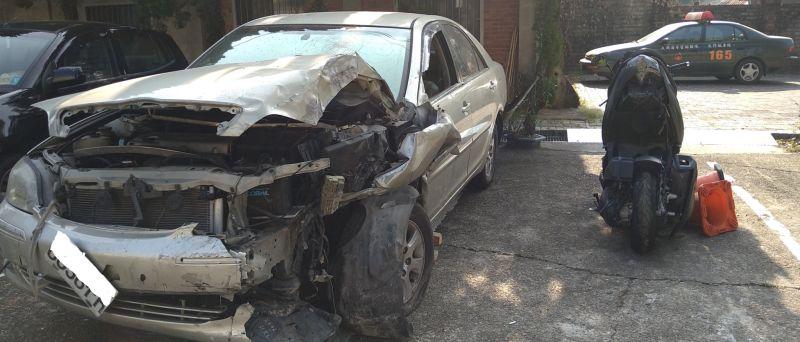 酒駕A1<b>肇逃</b>後又自撞民宅 員警前往傳喚遭反抗受傷