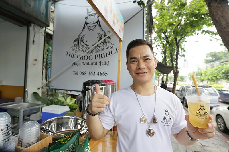 向泰國人介紹愛玉!泰籍導遊失業改賣台灣愛玉