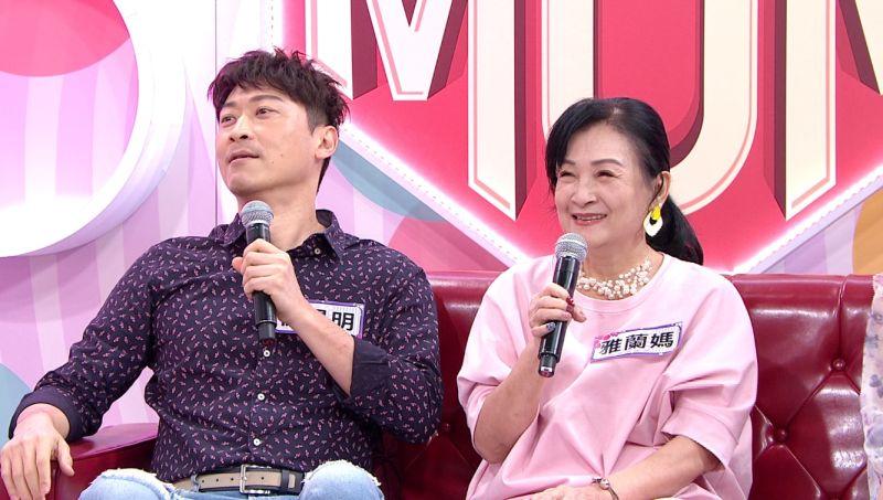 ▲侯昌明(左)自豪對丈母娘超暖心。(圖/年代提供)
