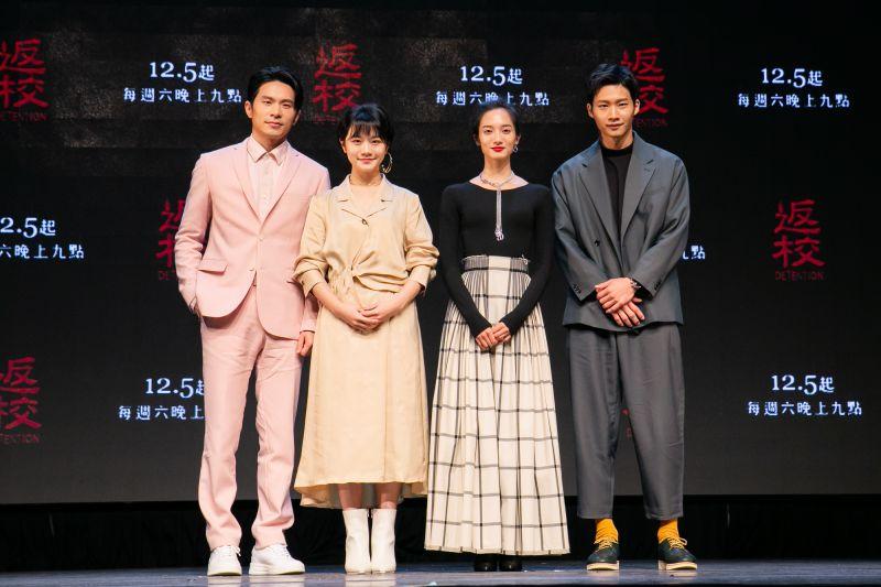 ▲姚淳耀(左起)、李玲葦、韓寧、黃冠智。(圖