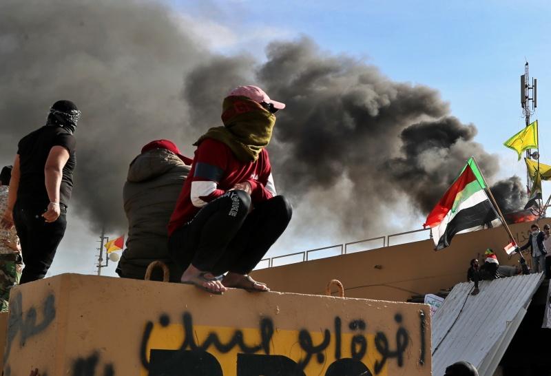 美國基於安全考量 撤離駐<b>伊拉克</b>大使館部分人員