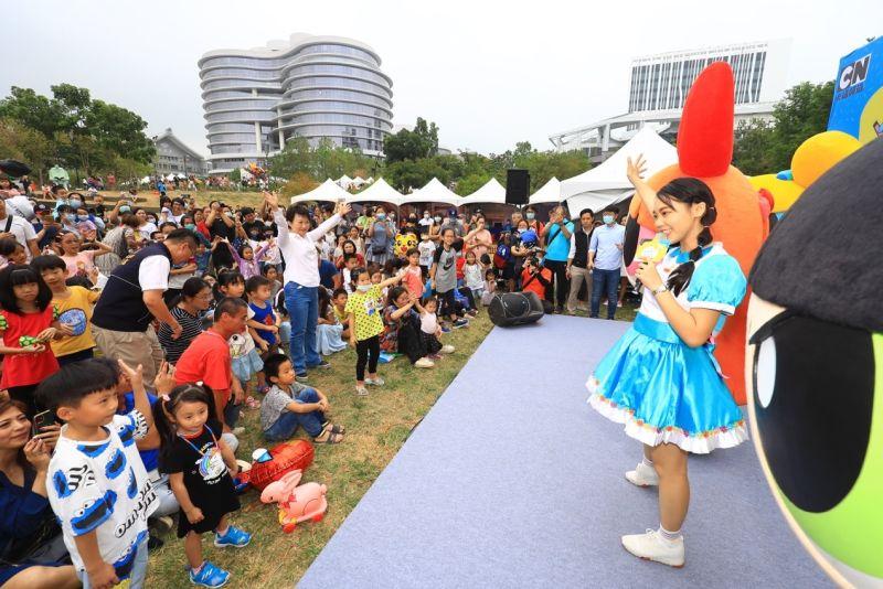 臺中親子音樂季移師大里東湖公園舉辦 市民滿意度達八成