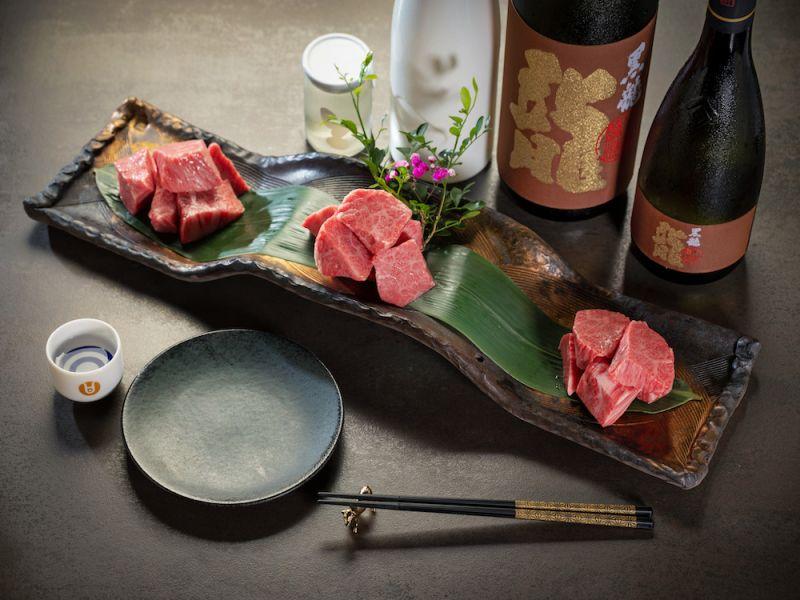 ▲精選三個最受歡迎種日本和牛角切,厚實的口感一次滿足。(圖/業者提供)